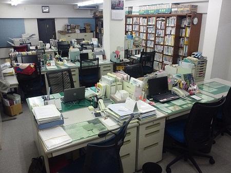 事務所の執務室